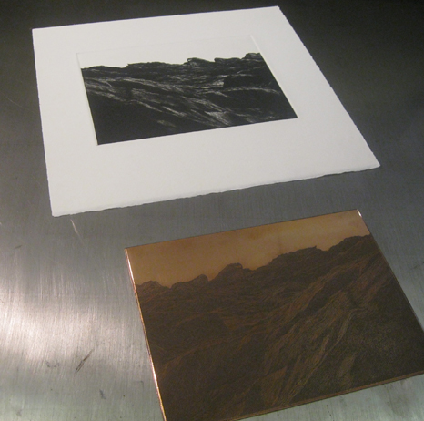 Etching process
